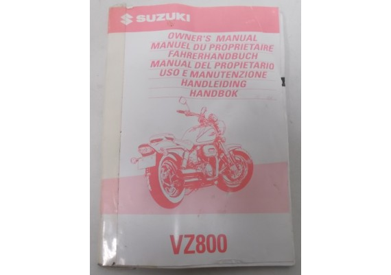 Owners Manual VZ 800 1997 99011-48E51-042