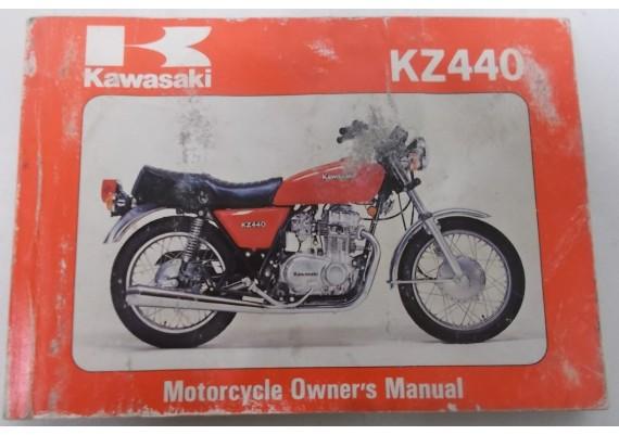 Owners Manual KZ 440 KZ440-B1 99920-1073-01