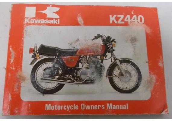 Owners Manual KZ 440 KZ440-B2 99920-1113-01