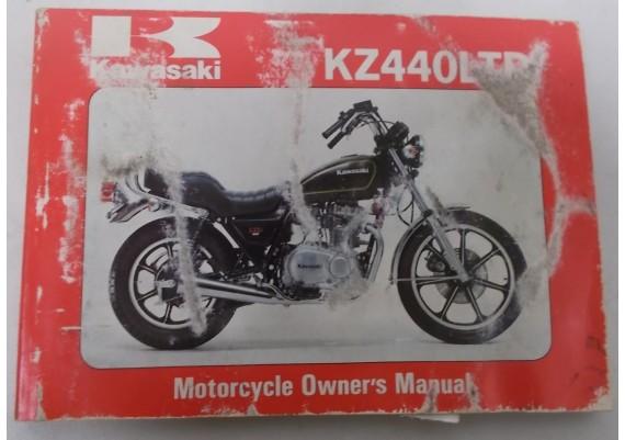 Owners Manual KZ 440 LTD KZ440-A1 99920-1072-01