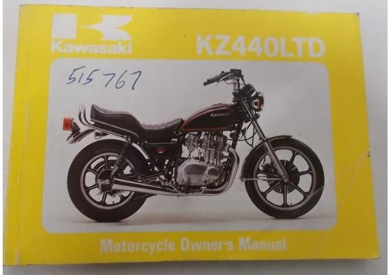 Owners Manual KZ 440 LTD KZ440-A2 99920-1126-03