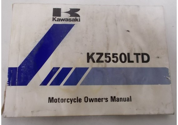 Owners Manual KZ 550 LTD KZ550-C3 99920-1136-01