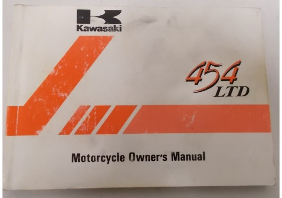 Owners Manual LTD 454 EN500-A1 99920-1281-02