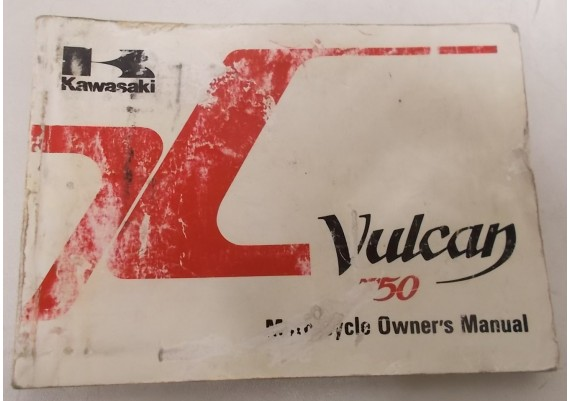 Owners Manual VN 750 Vulcan VN750-A2 99920-1314-02
