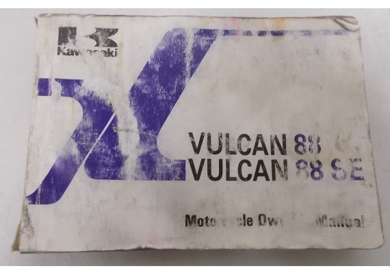 Owners Manual VN 1500 Vulcan 88/SE VN1500-A4-VN1500B4 99920-1487-02