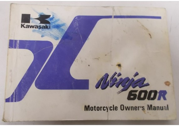 Owners Manual ZX 600 R ZX600-C2 99920-1450-02