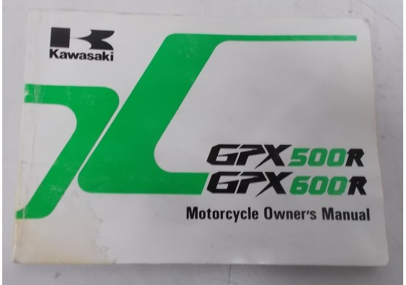 Owners Manual GPX500R / GPX600R 1993 99922-1695-01