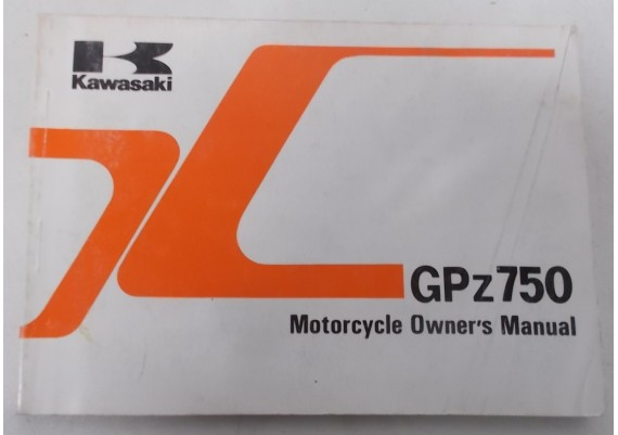Owners Manual GPZ 750 1984 99922-1318-01