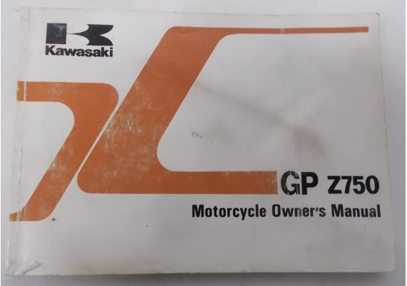 Owners Manual GPZ 750 1983 99920-1233-01