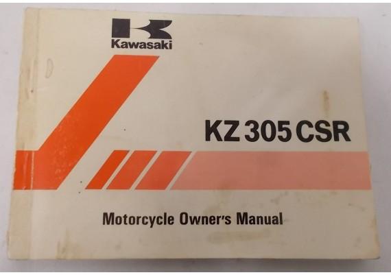 Owners Manual KZ 305 CSR 1981 99920-1151-01