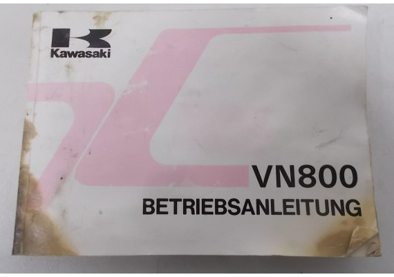 Owners Manual VN 800 Duits 1994 99923-1390-01