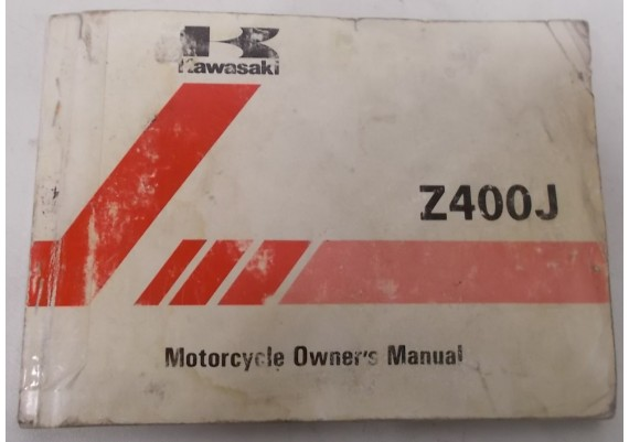 Owners Manual Z 400 J 1981 99922-1096-02