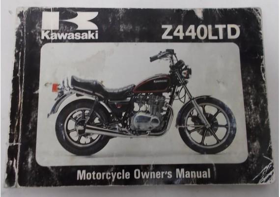 Owners Manual Z 440 LTD 1981