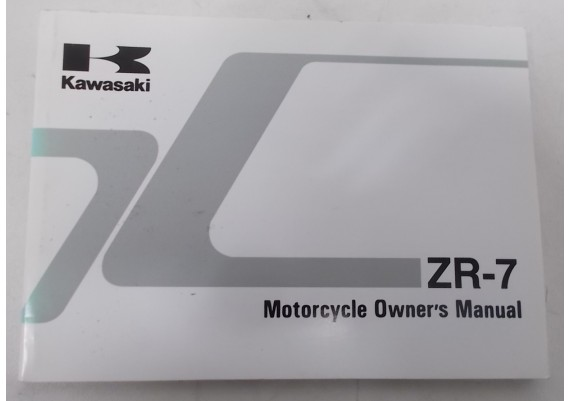 Owners Manual ZR-7 1999 99922-1937-03