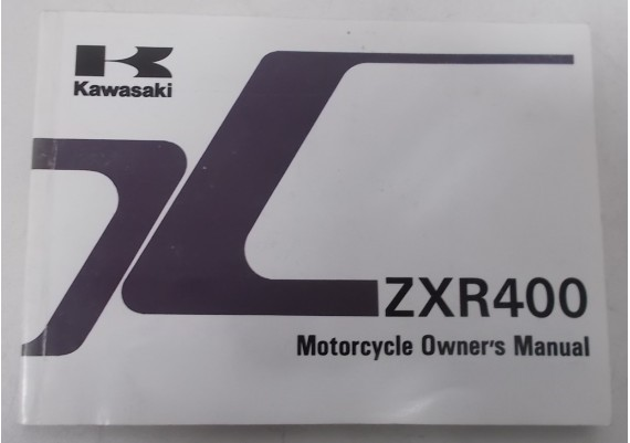 Owners Manual ZXR 400 1998 99922-1945-01