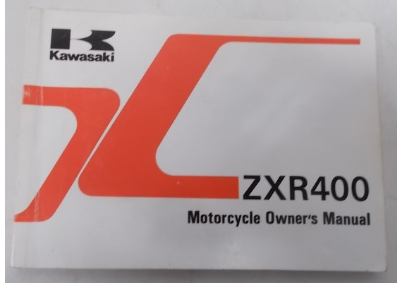 Owners Manual ZXR 400 1992 99922-1659-01