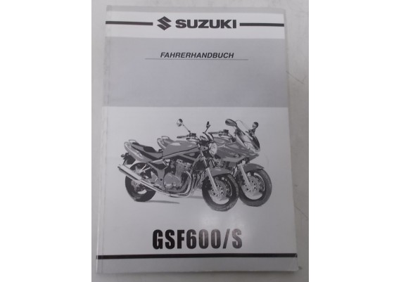 Owners Manual GSF600/S 2000 Duits 99011-31F51-01K