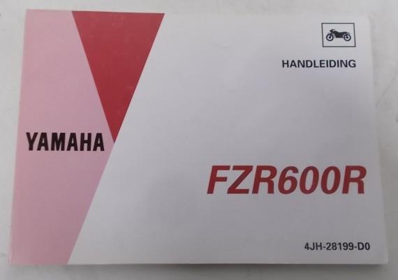 Owners Manual FZR 600 R 1993 4JH-28199-D0