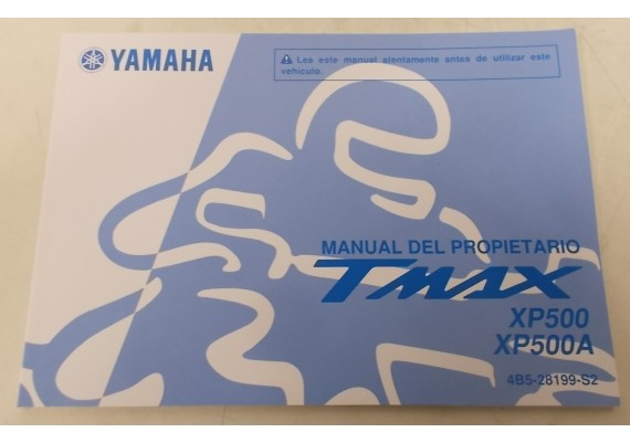 Owners Manual XP 500 T-Max 2008 Spaans 4B5-28199-S2