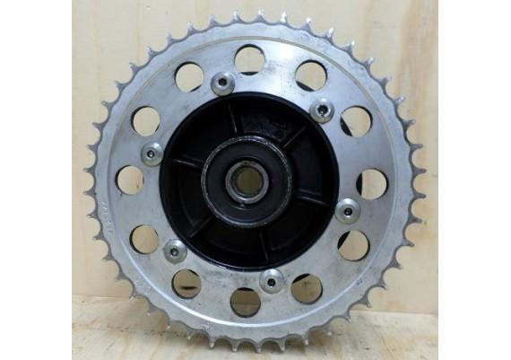 Kettingwielhouder incl. kettingwiel 44 tands (zilver) Radian