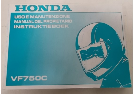 Owners Manual VF 750 C 1993 Nederland/Frans/Spaans 00X37-MZ5-8100