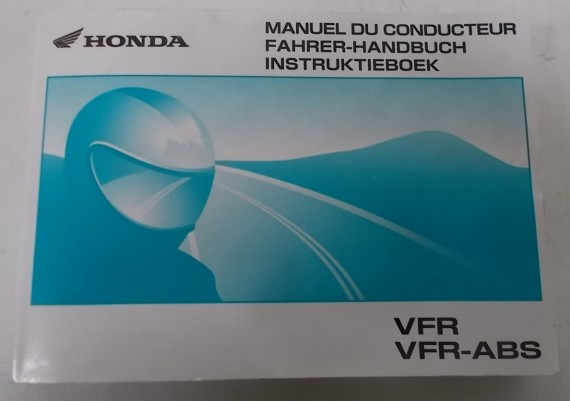 Owners Manual VFR 800 Fi 2004 Nederland/Frans/Duits 00X37-MCW-8300