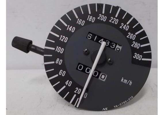 Kilometerteller / snelheidsmeter (61433 km.) inclusief haakse overbrenging YZF 600 R