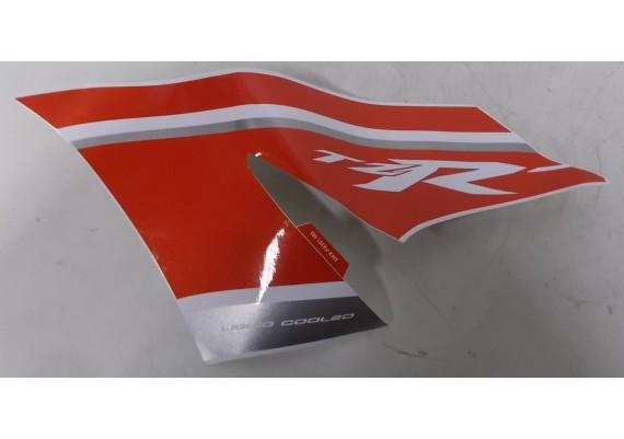 Sticker rood/zilver/wit 5WX-F8391-M0 TZR 50