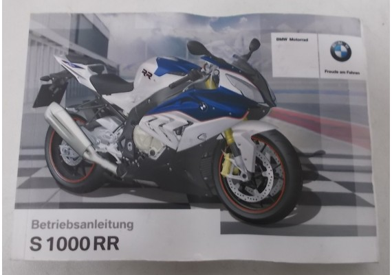 Owners Manual S 1000 RR 2014 Duits 01 40 8 554 760