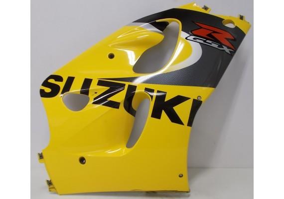Zijkuip rechts geel/zwart/zilver/rood (1) 94471-33E00 GSX R 600 / 750 SRAD