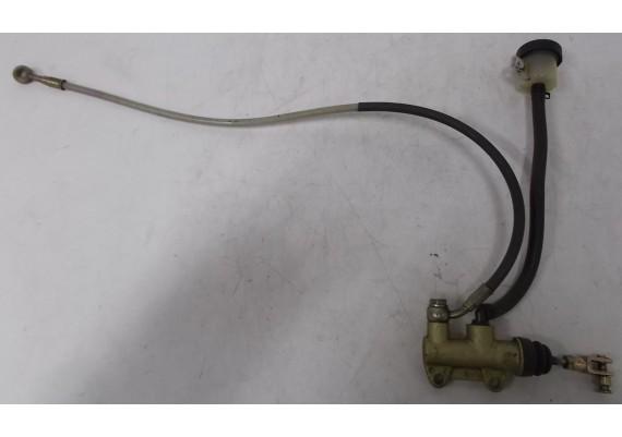 Rempomp achter BREMBO (1) inclusief remslang (staalomvlochten) en potje ST 4