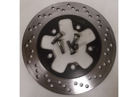 Remschijf achter (1) 4,6 mm. inclusief boutjes GSX 600 F