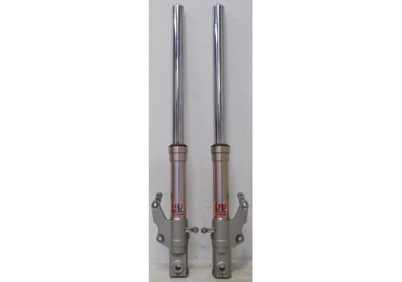 Voorpoten (set 1) voorzien van nieuwe stofringen FZR 600 R