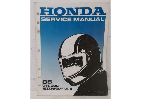 Service Manual VT600C Shadow / VLX 600 Shadow 1988 Engels 61MR100 A26008712J (1987)