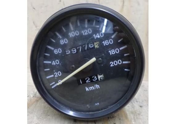 Kilometerteller (59776 km.) GS 500 E