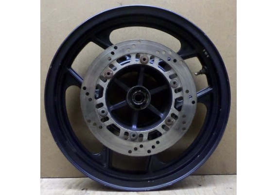 Voorvelg J16 x MT2.50 donkerblauw inclusief schijven GPX 600