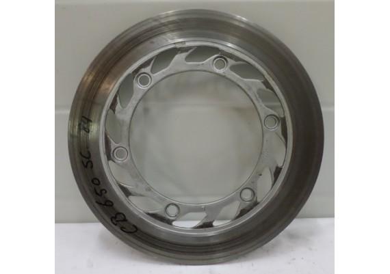 Remschijf links voor (1) model A (4,9 mm.) CB 650 SC
