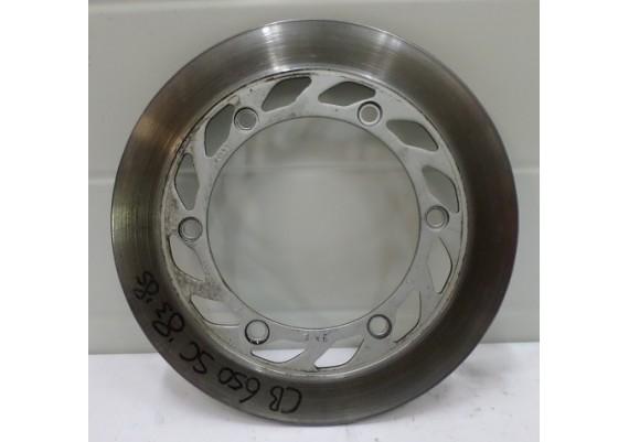 Remschijf links voor (2) model A (4,8 mm.) CB 650 SC
