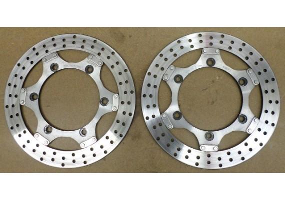 Remschijven voor (set) 280 x 130 x 5 mm. zwevend GPZ 750 R