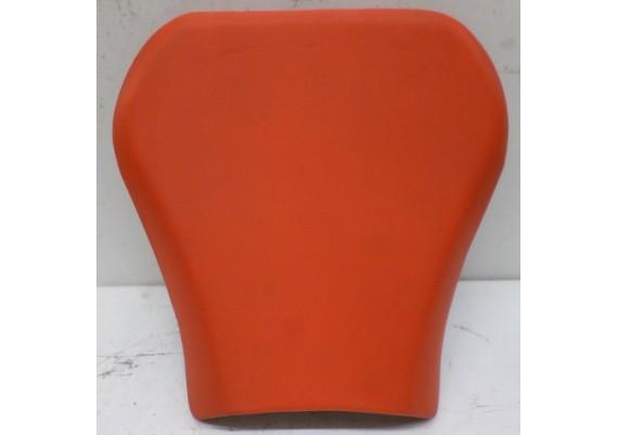 Buddyseat / zadel voorste deel oranje Tuono 1000