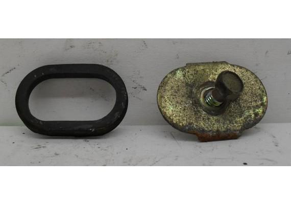 Tankbout-plaatje + rubber FJ/XJ 600