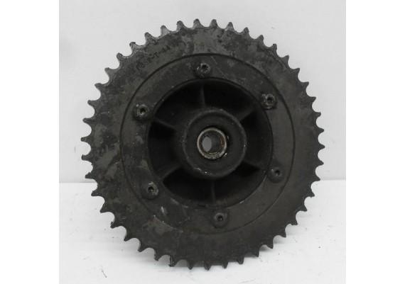 Tandwielhouder + tandwiel 44T (dicht) FJ/XJ 600