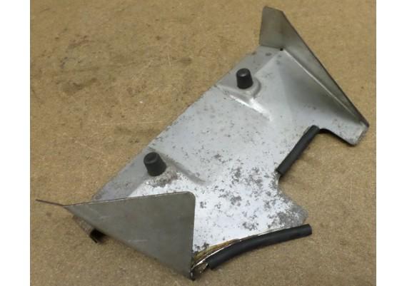 Hitteschild boven voorste cilinder staal PC 800