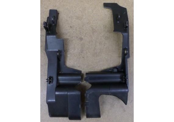 Beschermkappen motorblok zwart (set L+R) PC 800
