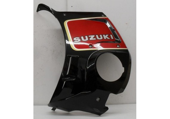 Rechter kuipdeel zwart/rood GSX 550 EF