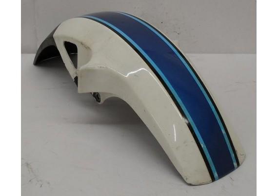 Voorspatbord wit/blauw GSX 550