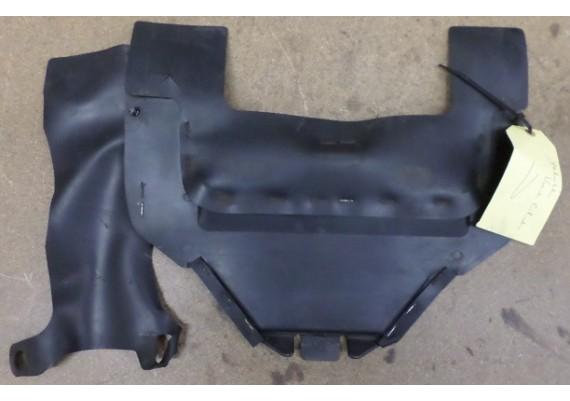 Hitteschild voor kunsstof/rubber zwart VFR 750 F