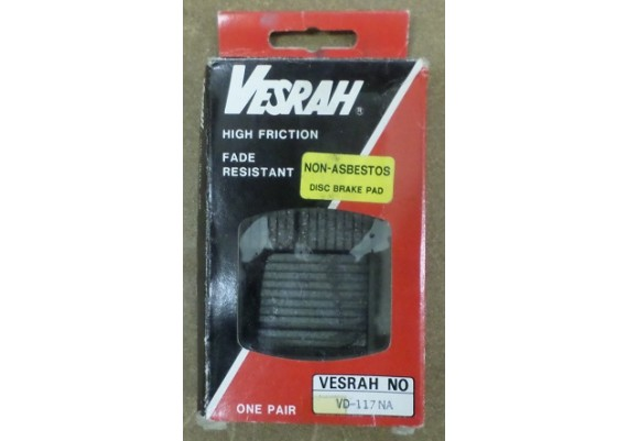 Remblokken Vesrah VD-117 NA