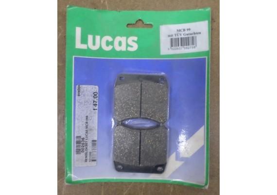 Remblokken Lucas MCB99