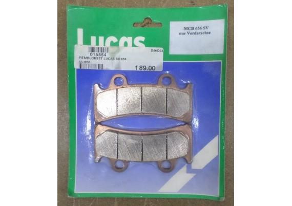 Remblokken Lucas MCB656 SV
